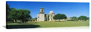San Antonio, Texas Mission Conception Panorama Picture