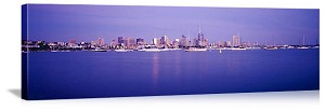 San Diego, California Bay Skyline Panorama Picture