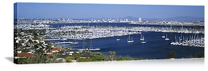 San Diego, California Marina Panorama Picture