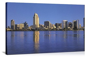 San Diego, California Skyline Spectacular Panorama Picture