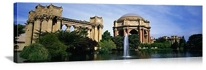 San Francisco, California Palace of Fine Arts Panorama Picture