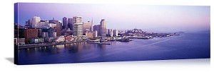 San Francisco, California City Skyline Waterfront Panorama Picture
