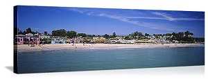 Santa Cruz, California Capitola Beach Panorama Picture