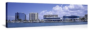 Sarasota, Florida Waterfront Skyline Panorama Picture