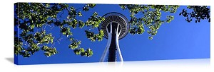 Seattle, Washington Space Needle Park Panorama Picture