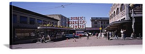 Seattle, Washington Pike Place Market Panorama Picture