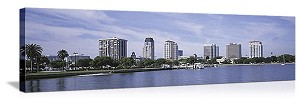 St. Petersburg, Florida Waterfront Skyline Panorama Picture
