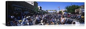 Sturgis, South Dakota Mainstreet Sturgis Panorama Picture