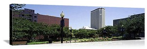 Tallahassee, Florida New State Capital Building Panorama Picture