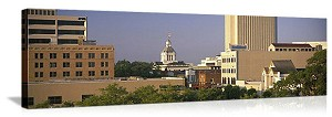 Tallahassee, Florida Capitol Building Skyline Panorama Picture