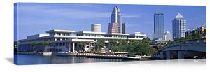 Tampa Bay, Florida Convention Center Skyline Panorama Picture