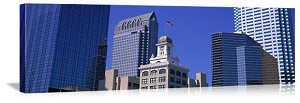 Tampa Bay, Florida Old City Hall Cityscape Panorama Picture