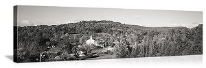 East Topsham, Vermont Skyline Panorama Picture
