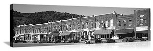 South Royalton, Vermont Downtown Panorama Picture