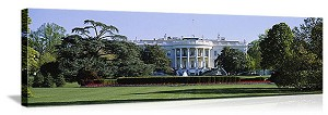 Washington, DC The White House Panorama Picture