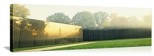 Washington, DC Vietnam Veterans Memorial Panorama Picture