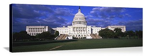 Washington, DC U.S. Capitol Building Panorama Picture