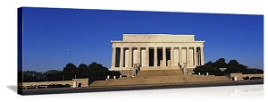 Washington, DC Lincoln Memorial Panorama Picture, AVAILABLE IN MANY FORMS AND SMALL TO HUGE SIZE!