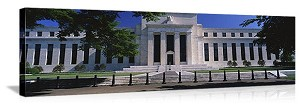 Washington, DC Federal Reserve Building Panorama Picture, AVAILABLE IN MANY FORMS AND SMALL TO HUGE SIZE!