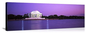 Washington, DC Jefferson Memorial Panorama Picture