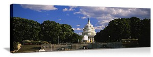 Washington, DC United States Capitol Building Panorama Picture