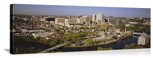 Wilmington, Delaware City Skyline Panorama Picture