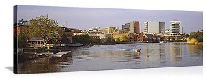 Wilmington, Delaware Riverfront Panorama Picture