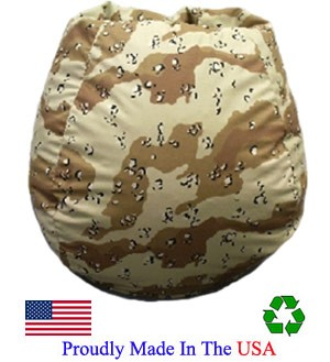 Desert Camo  Bean Bag