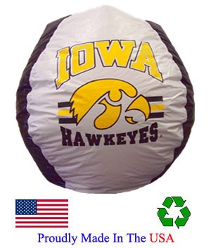 Iowa Hawkeyes Bean Bag
