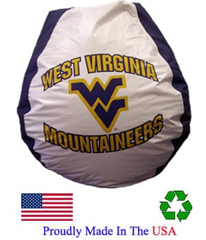 West Virginia Mountaineers Bean Bag