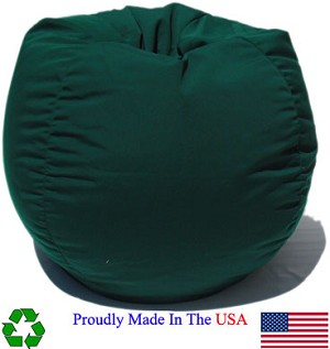 Forest Green Outdoor Bean Bag Chair