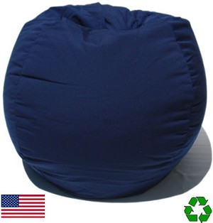 Navy Outdoor Bean Bag Chair