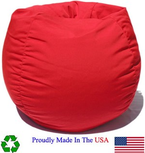 Red Outdoor Bean Bag Chair