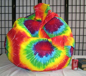 Tie Dye Bean Bag Chair In Stock Ready To Ship