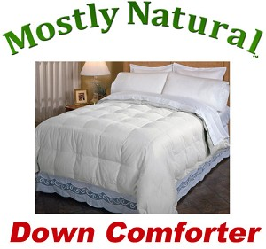 Twin Down Comforter with Micro Fiber Shell