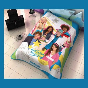 High School Musical Stars Plush Acrylic Blanket