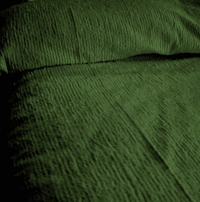 Kaos Couple Chenille Bedspread Bedspreads