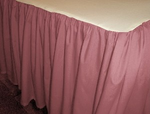 Rose Dustruffle Bedskirt Twin Size