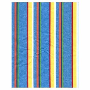 Bright Multi-Stripe Tropical Bedding and Beach Bedding