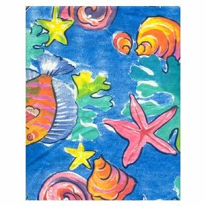 Funky  Fish Tropical Bedding and Beach Bedding