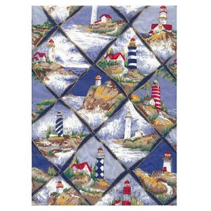 Lighthouse Tropical Bedding and Beach Bedding