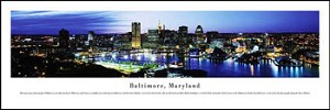 Baltimore, Maryland Skyline Picture 2
