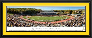 Appalachian State University Kidd Brewer Stadium Deluxe Framed Picture