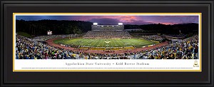 Appalachian State University Kidd Brewer Stadium Deluxe Framed Picture 2