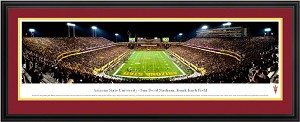 Arizona State University Sun Devil Stadium Deluxe Frame