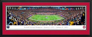 2012 BCS Louisiana Superdome Deluxe Framed Picture