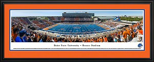Boise State University Bronco Stadium Deluxe Framed Picture