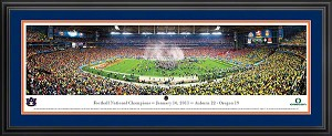 2011 National Champions Auburn University Deluxe Framed Picture