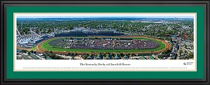 Churchill Downs Kentucky Derby Deluxe Framed Picture