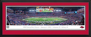 2012 Cotton Bowl Cowboys Stadium Deluxe Framed Picture